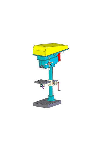 Resultado de imagen para taladro de columna solidworks